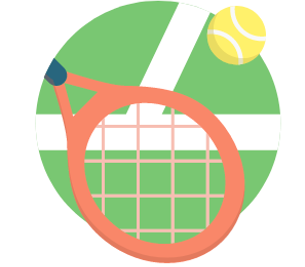 Practice Tennis