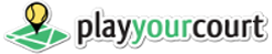PlayYourCourt Logo