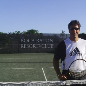 Jerry F. Tennis Coach