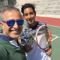 Alireza G. Tennis Instructor Photo